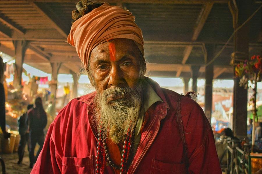 image of aghori sadhu baba