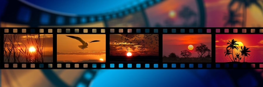 this image showing movie show reel