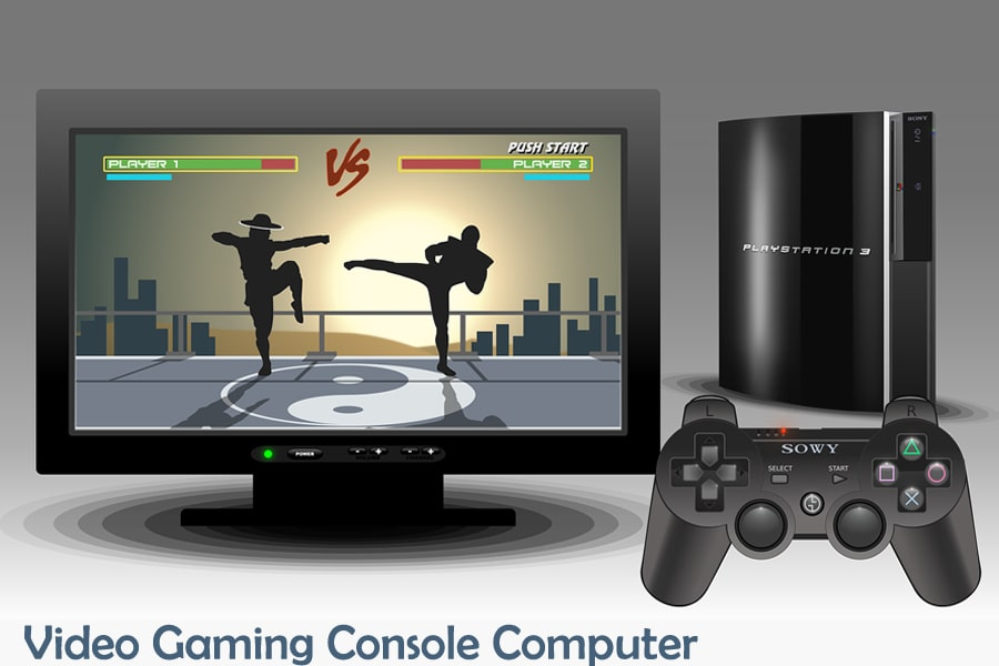 video gaming console computer